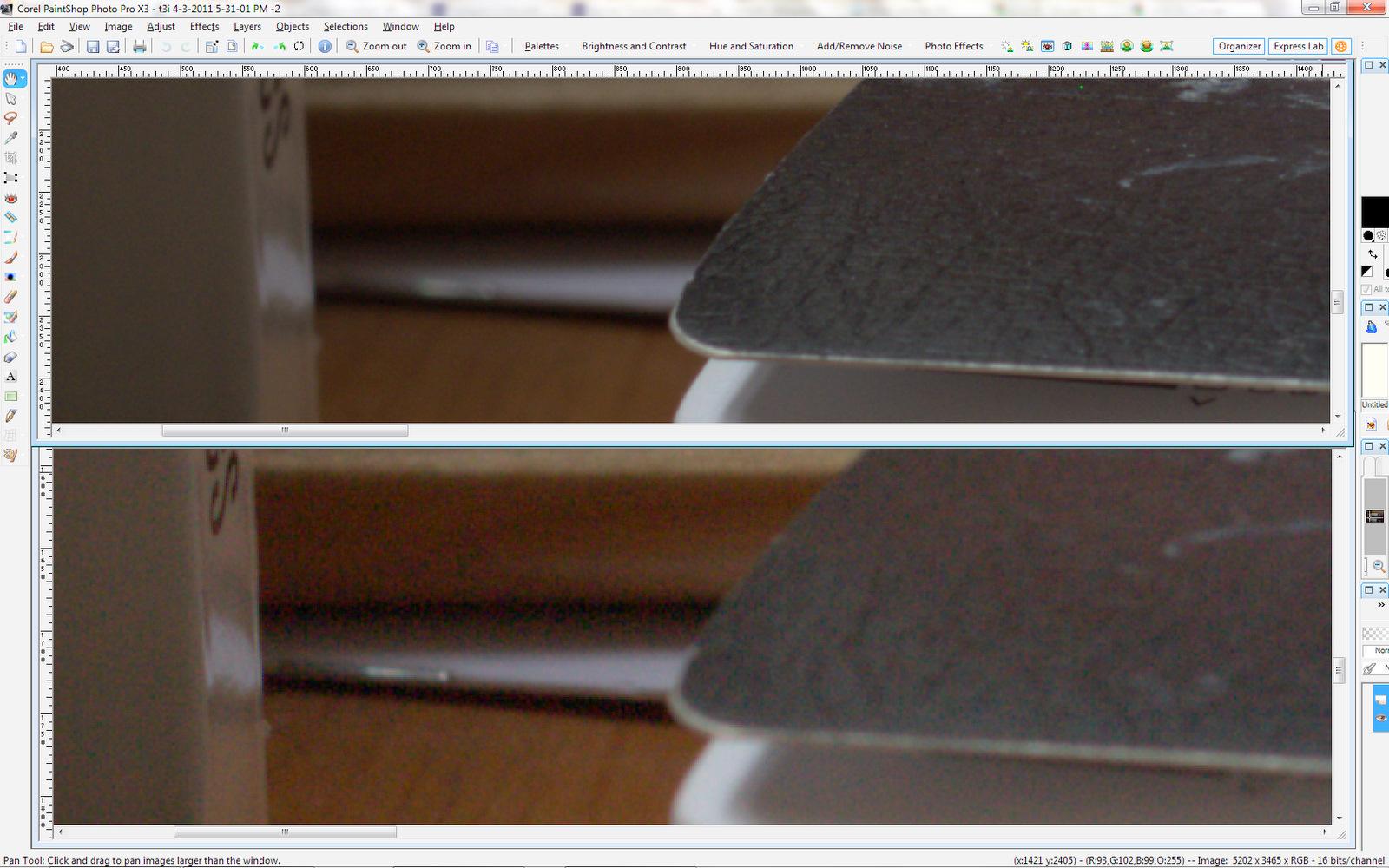 Canon T3i vs XSi Image Quality Smackdown | Krista Brownlee